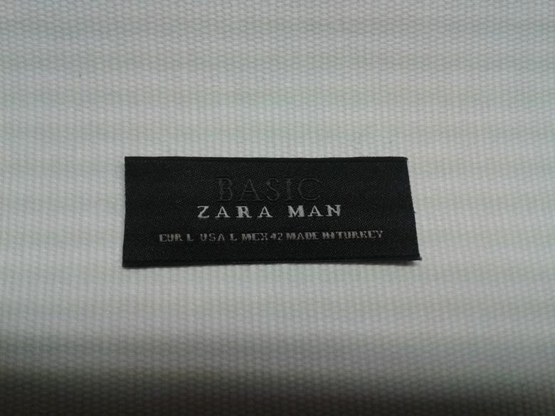 Damask Cut & Folded Label
