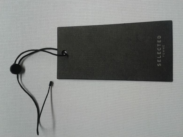Screen Printed Hang Tag